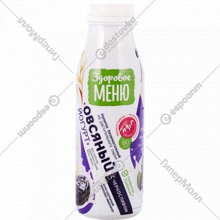 Напиток овсяный «Здоровое меню» с черносливом, 1.3%, 330 мл.