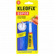 Универсальный клей «Kleofix» Super секундный, 3 г.