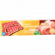 Чипсы «Mega Chips» со вкусом бекона 100 г.