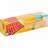 Чипсы «Mega Chips» со вкусом сметаны и сыра 100 г.