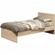 Кровать «Олмеко» 21.55, дуб сонома, 90 см