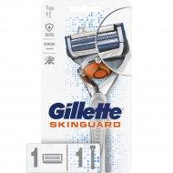 Бритва «Gillette» skinguard sensitive с 1 сменной кассетой.