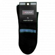 Носки мужские черные «Vasilina» 9с3417, размер 27-29.