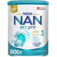 Напиток молочный сухой «NAN 3» с пробиотиками, 800 г.