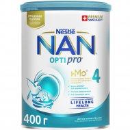 Напиток молочный сухой «NAN 4» с пробиотиками, 400 г.