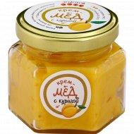 Крем-мед «Золотой улей» с курагой, 150 г.