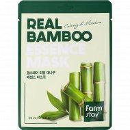 Маска для лица «FarmStay» с экстрактом бамбука, 23 мл