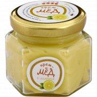 Крем-мед «Золотой улей» с лимоном, 150 г.