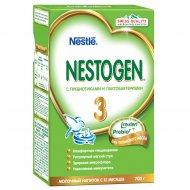 Напиток сухой молочный «Nestogen 3» с пребиотиками 700 г.