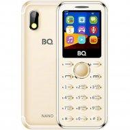 Мобильный телефон «BQ» 1411 Nano, золотой