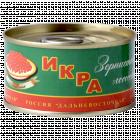Икра лососевая зернистая «Дальневосточная» 140 г.