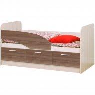 Кровать «Олмеко» 06.222, ясень шимо, 160 см