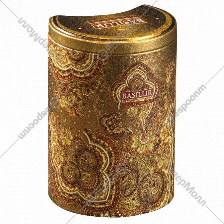 Чай чёрный «Basilur» золотой месяц 100 г.