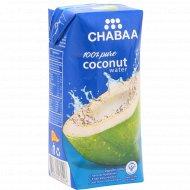 Кокосовая вода «Chabaa» 180 мл.