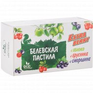 Пастила «Белевская» яблоко-брусника-смородина, 100 г.