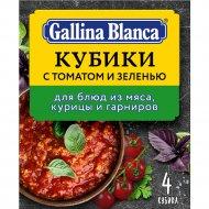 Кубик-приправа «Gallina Blanca» с томатом и зеленью, 4 х 10 г