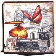 Контейнер-органайзер текстильный с крышкой, ЕТ761.