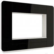Шкаф «Олмеко» Лаванда - 2, черный