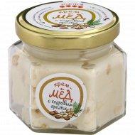 Крем-мед «Золотой улей» с кедровым орехом, 150 г.