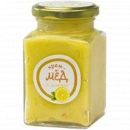 Крем-мед «Золотой улей» с лимоном, 300 г.