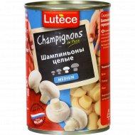 Шампиньоны консервированные «Lutece» целые, 400 г.