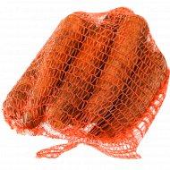 Морковь столовая, 1 кг., фасовка 1.8-2.1 кг