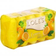 Туалетное мыло «Lole's» лимон, 5 х 60 г