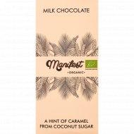 Шоколад молочный «Manifest Bio» 70 г