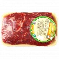 Длиннейшая мышца «Белорусская» из говядины замороженная 1 кг.