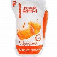 Бионапиток кисломолочный «Маслянка» с печеным яблоком, 1.5%, 250 г.