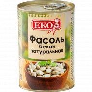 Фасоль белая натуральная консервированная «ЕКО» 400 г.