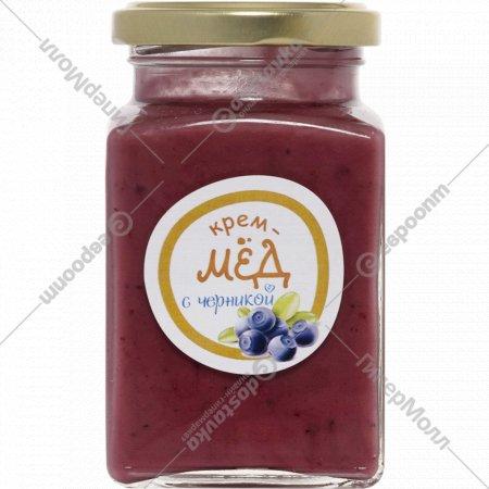 Крем-мёд «Золотой улей» с черникой, 300 г.