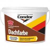 Краска «Condor» Dachfarbe D-17, кирпично-красный, 13 кг