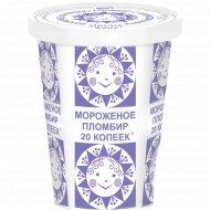 Мороженое «Пломбир» с ванилином 225 г.