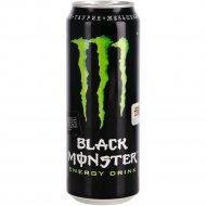 Напиток энергетический «Black monster» газированный, 0.449 л.