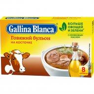 Бульон «Galina Blanca» говяжий на косточке, 8х10 г.