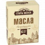 Масло сладкосливочное «Стары Менск» несоленое, 82.5%, 160 г