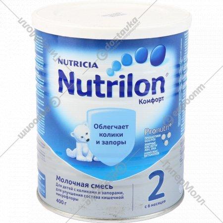 Молочная смесь «Nutrilon» Комфорт 2, 400 г.