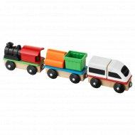 Поезд «Лиллабу» 3 вагона.