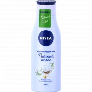 Молочко для тела «Nivea» райский кокос, 200 мл