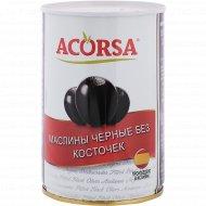 Маслины черные «Acorsa» без косточек, 425 г