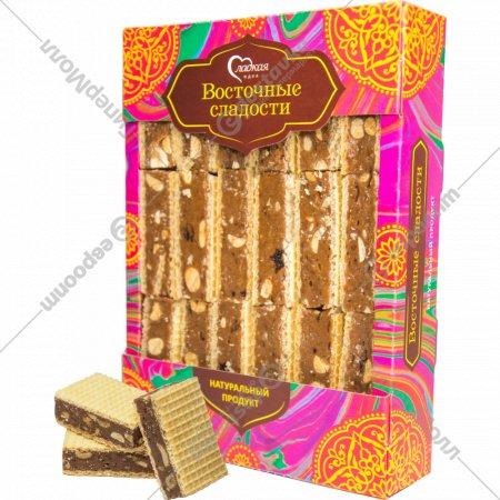Вафли «Восточные» изюм с орехами, 600 г.