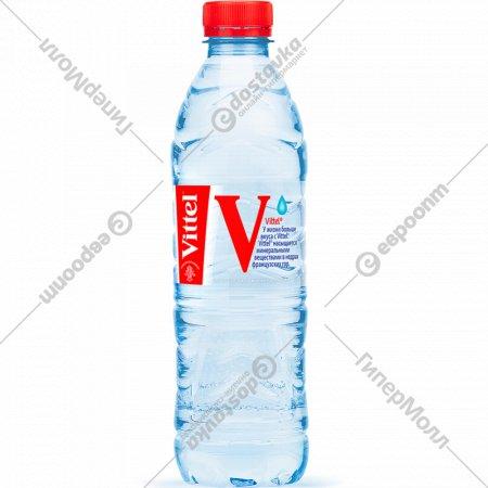 Вода минеральная «Vittel» негазированная 0.5 л.