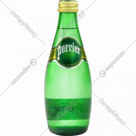 Вода минеральная «Perrier» газированная 0.33 л.