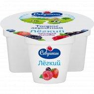 Творог зернёный «Ласковое лето» лесная ягода 3 %, 130 г.