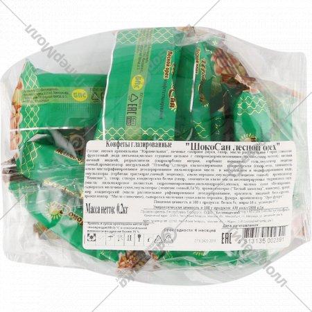 Конфеты глазированные «ШокоСан лесной орех» 200 г.