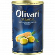 Оливки «Olivari» фаршированные лососем, 300 г.