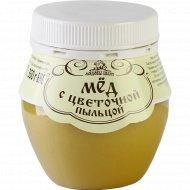 Мёд «Мядовы Шлях» с цветочной пыльцой, 350 г.