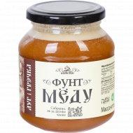 Мёд «Фунт меда» луг i грэчка, 454 г.