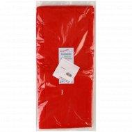 Скатерть одноразовая красная, 110х140 см, 1 шт.